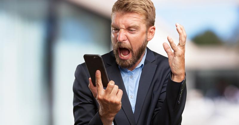Impacto negativo de ver una página web que no es responsive ni se adapta a móviles