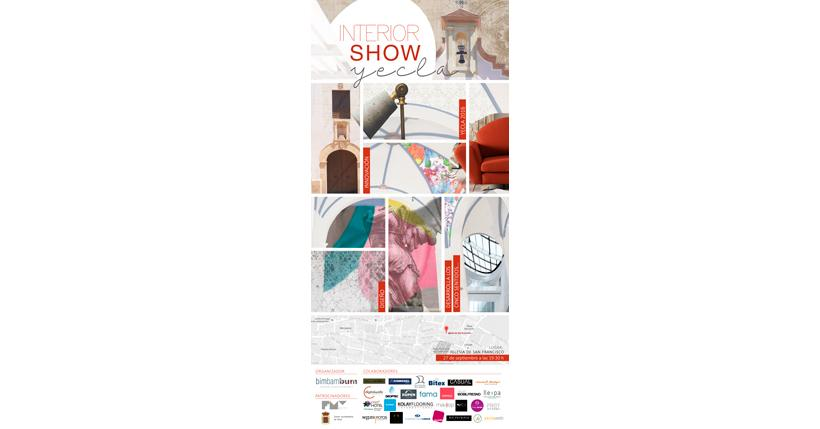 Cartel del Interior Show Yecla 2016