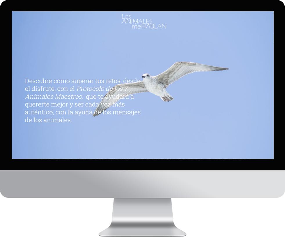 Landing page con pago en pantalla grande