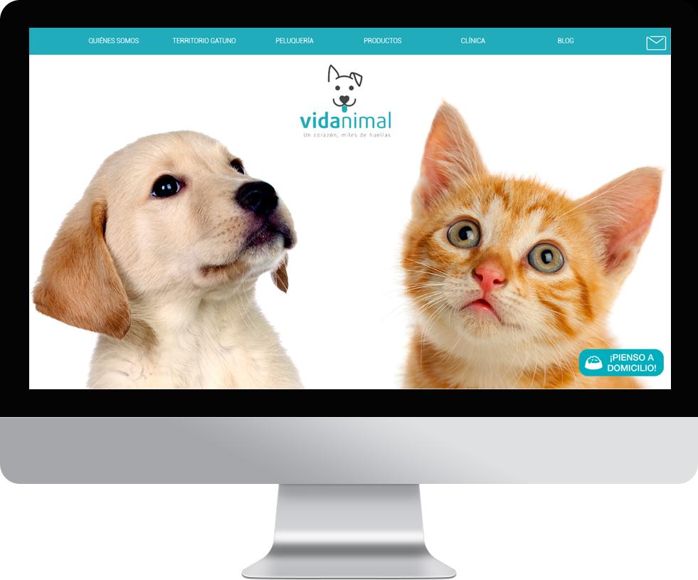 Trabajo web para Vida Animal en pantalla grande