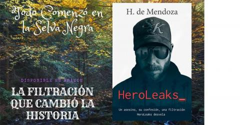 Portada de la novela HeroLeaks