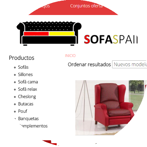 Diseño web Sofa Spain