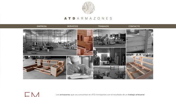 Página web de ATD Armaznes