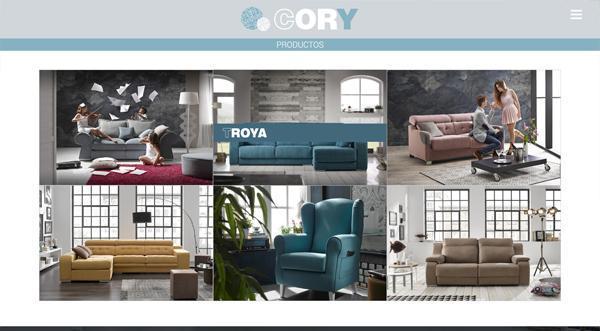 Página web Cory Tapizados