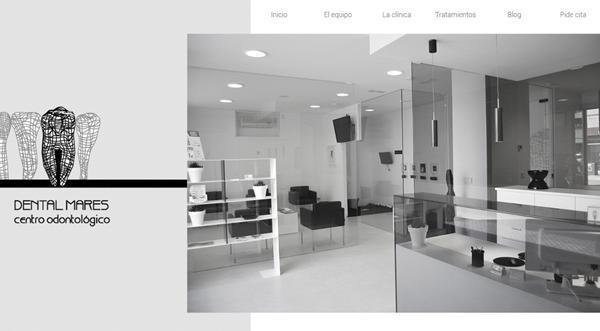 Página web de Dentalmares