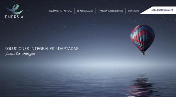 Página web de Enersia