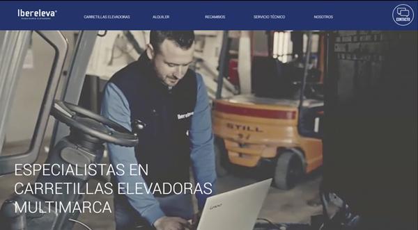 Página web de Ibereleva