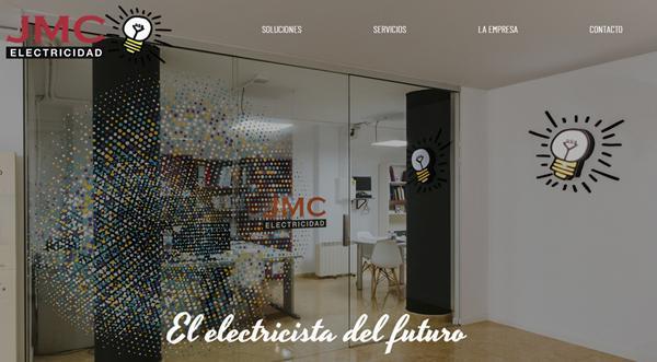 Página web de JMC Electricidad