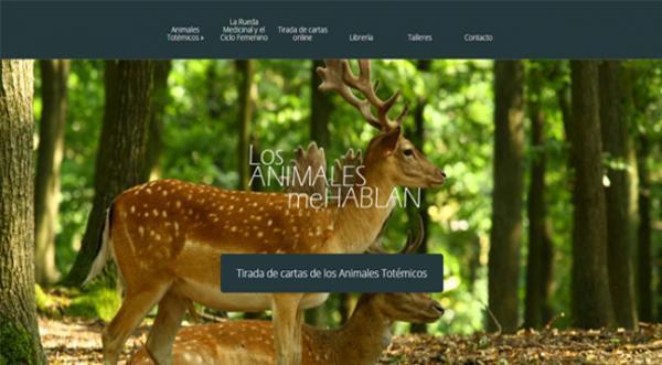 Página web Los animales me hablan
