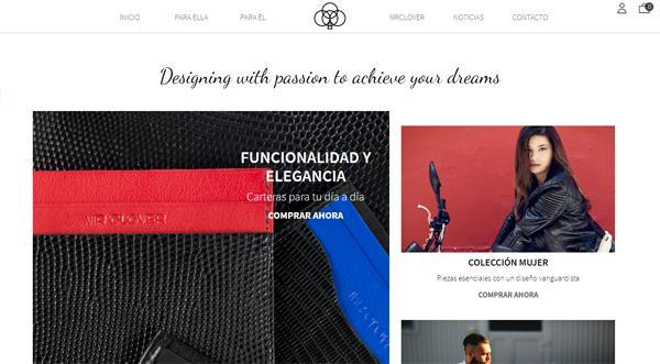 Página web de MrClover