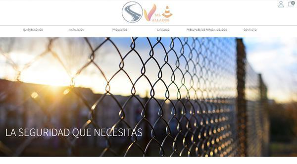 Página web de Seguridad Vial Vallados