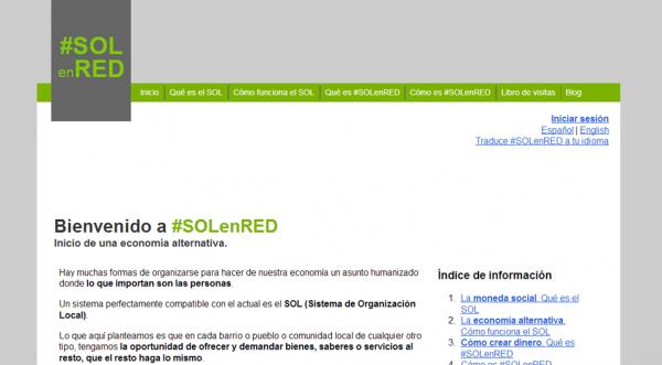 Página web #SOLenRED