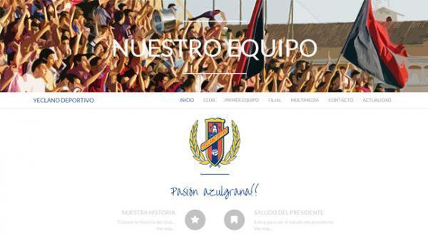 Página web Yeclano Deportivo