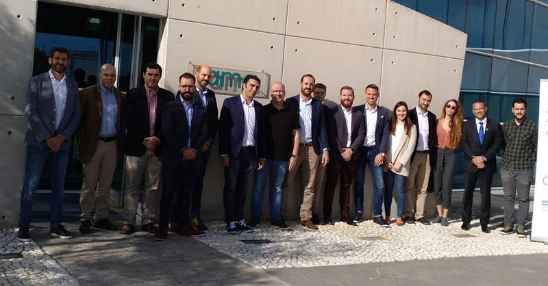 Foto de la visita de AJE Región de Murcia a Fama Sofás - Yeclaweb